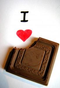 Çikolatalardan Aşk Çıkarmak