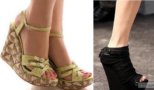 en güzel dolgu topuk ayakkabılar