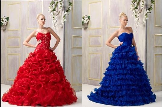 kırmızı mavi nişanlık modelleri