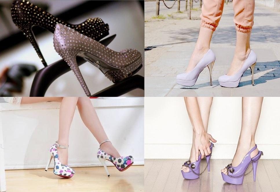 taşlı platform topuklu ayakkabı