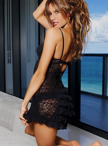 2012 Victorias Secret gecelik modelleri Birbirinden Güzel Saten Gecelikler 7