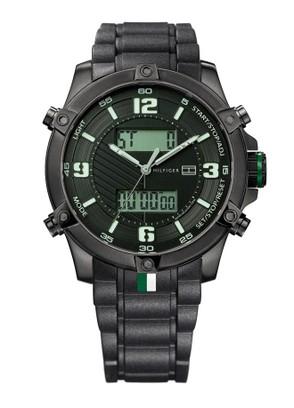 2012 siyah erkek saati modelleri Tommy Hilgfiger Marka Erkek Saatleri 1