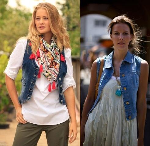 2012 trend jean yelek modelleri Bayan Yazlık En Güzel Yelek Modelleri 10