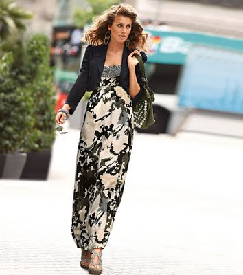 2012 yeni sezon uzun elbise modelleri En Güzel Maxi Elbise Modelleri 2