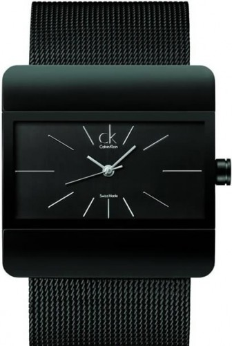 Calvin Klein kare siyah saat cesitleri Yeni Sezon Marka Saat Modelleri 8
