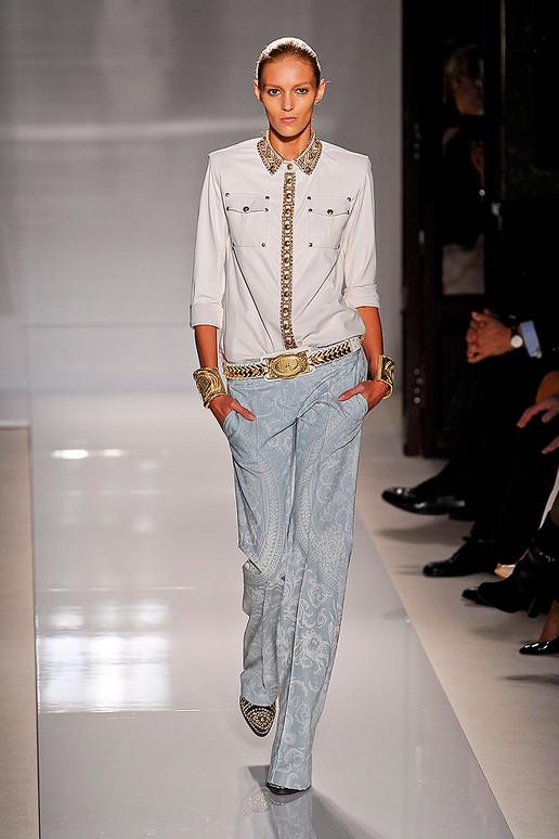 altin islemeli gomlek ve kumas pantolon İlkbahar Koleksiyonu ile Işıl Işıl Kombinler 11