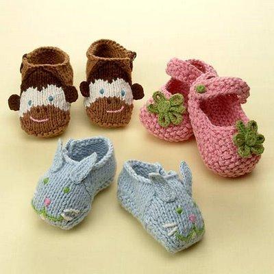 birbirinden farkli guzel bebek patikleri Minicik Çok Tatlı Örgü Bebek Patikleri 1