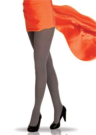 boydan cizgili kilotlu corap ornekleri Trend Pierre Cardin Bayan Çorapları 24