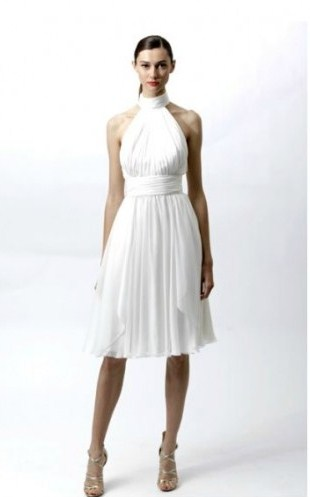 boyundan baglamali beyaz dizde elbise modelleri Desen Desen En Şık Yazlık Bayan Elbise Modelleri 5