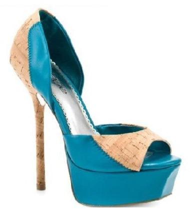 burnu acik elisse platform topuklu ayakkabilar1 Yeni Sezon Elisse Platform Topuklu Ayakkabılar 12