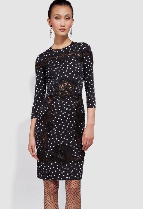 dantel suslemeli kapri kol elbiseler 2012 En Güzel Yazlık Elbiseler 5