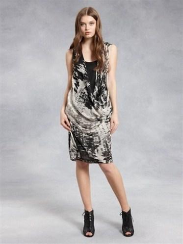degaje yaka kolsuz elbise modelleri 2012 En Güzel Yazlık Elbiseler 6