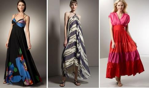 en guzel farkli uzun elbise modelleri En Güzel Maxi Elbise Modelleri 9