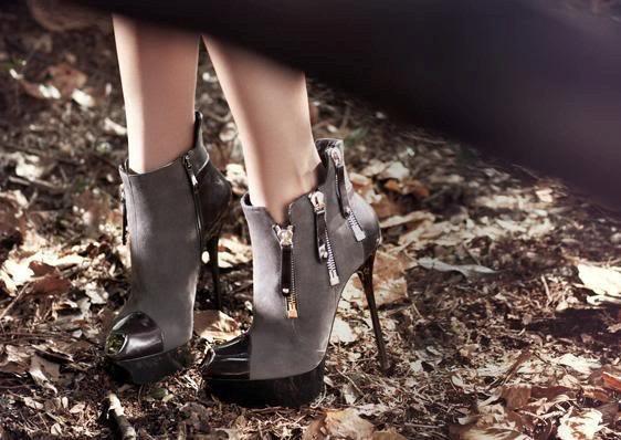 farkli fermuarli yuksek topuklu ayakkabilar En son Moda Platform Topuklu Ayakkabılar 21