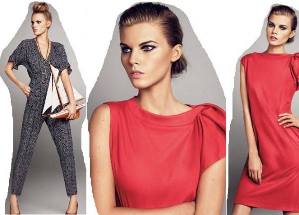 farkli modern kirmizi elbise cesitleri Desen Desen En Şık Yazlık Bayan Elbise Modelleri 10