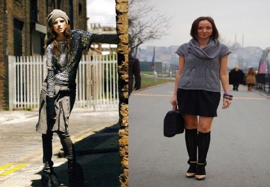 farkli trend sokak modasi ornekleri Yeni Sezon Farklı Sokak Modası 10
