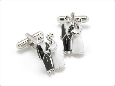 gelin damat tasarimli kol dugmesi ornekleri Farklı İlginç Yeni Trend Kol Düğmesi Modelleri 8