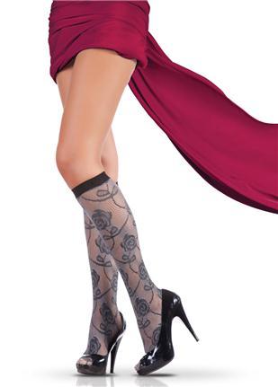 gul desenli bayan corap modelleri Trend Pierre Cardin Bayan Çorapları 6