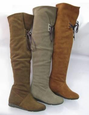 ipli suet bayan cizme ornekleri Yeni Tend Topuklu Bayan Çizme Modelleri 20