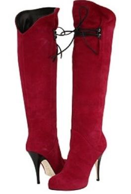 kirmizi suet topuklu cizme modelleri Yeni Tend Topuklu Bayan Çizme Modelleri 21