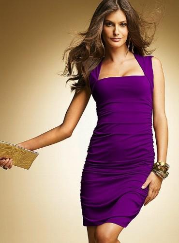 kolsuz mor dar yazlik modern sik elbise modelleri Yaz Aylarının Vazgeçilmezleri Kısa Elbiseler 21