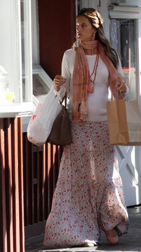 maksi etek kombinli 2012 sokak modasi ornekleri Yeni Sezon Farklı Sokak Modası 14