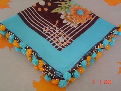 mavi sari kurdela nakisli igne oyasi modelleri En Güzel Yazma Oyası Modelleri 16