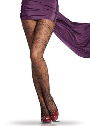 modern ve sik desenli kilotlu corap modelleri Trend Pierre Cardin Bayan Çorapları 7