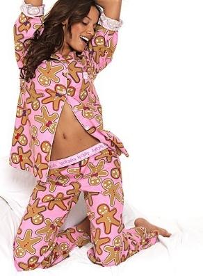 pembe gomlek modelli pijama takimlari En Güzel Bayan Penye Pijama Takımları 6