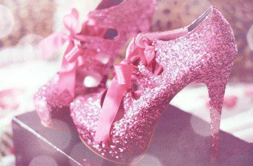 pembe topuklu simli ayakkabi modelleri En son Moda Platform Topuklu Ayakkabılar 5