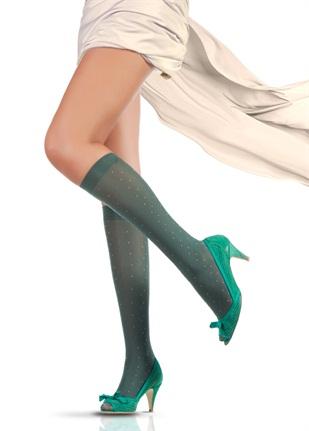 pierre cardin yesil kisa bayan corabi modelleri Trend Pierre Cardin Bayan Çorapları 14