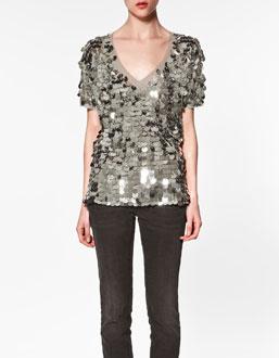 pullu V yaka kisa kollu bayan t shirtler İlkbahar Koleksiyonu ile Işıl Işıl Kombinler 18