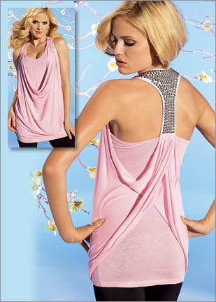 rambo askili farkli ilginc bayan bluz ornekleri Yeni Sezon Trend T-shirt Modelleri 16