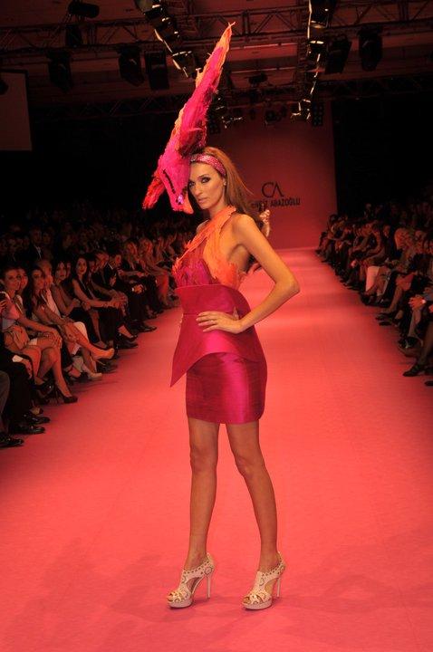saten fusya rengi gece elbiseleri Yeni Sezon Cengiz Abazoğlu Abiye Elbise Koleksiyonu 1