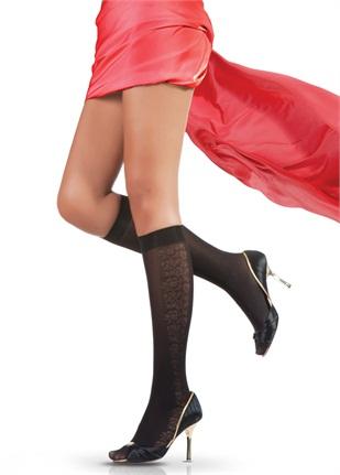 siyah diz alti pierre cardin coraplar Trend Pierre Cardin Bayan Çorapları 17