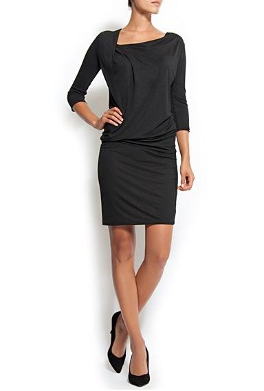 siyah kapri kol sik elbise modelleri Birbirinden Güzel Mango Bahar Koleksiyonu 15