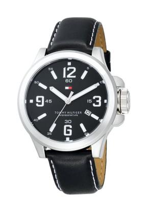 siyah kordonlu marka erkek saatleri Tommy Hilgfiger Marka Erkek Saatleri 10