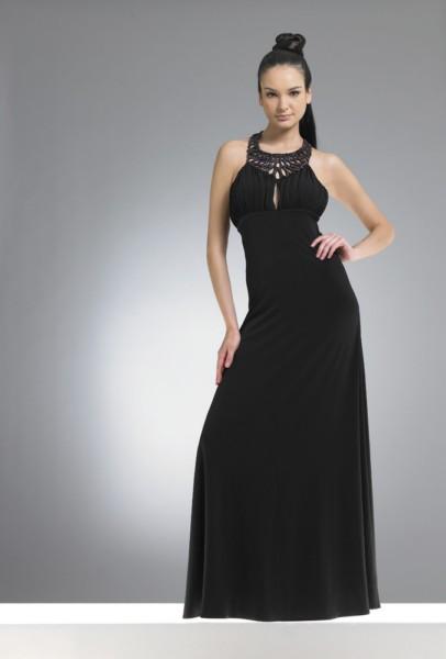 siyah maksi boy abiye elbise modelleri Yeni Trend Siyah Gece Elbiseleri 4
