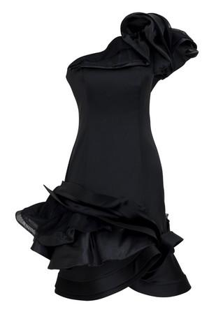 siyah mini abiye elbise ornekleri Yeni Trend Siyah Gece Elbiseleri 5