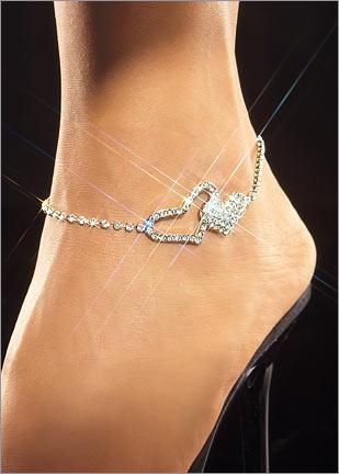 tasli kalpli en guzel halhal modelleri1 Abiye Kıyafetler İçin Farklı Takı Tasarımları 18