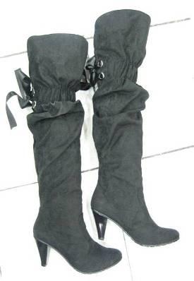topuklu lastikli suet cizme ornekleri Yeni Tend Topuklu Bayan Çizme Modelleri 6