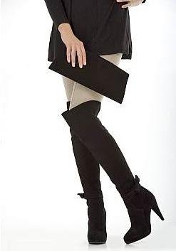 topuklu siyah dizustu cizme cesitleri Yeni Tend Topuklu Bayan Çizme Modelleri 7
