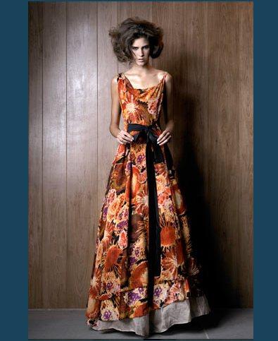 uzun desenli kurdelali elbise modelleri En Güzel Maxi Elbise Modelleri 23