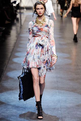 uzun kollu farkloi yeni sezon elbiseler 2012 En Güzel Yazlık Elbiseler 17