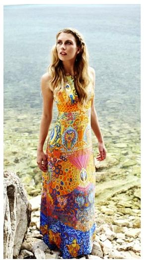 yazlik uzun elbise modelleri ornekleri En Güzel Maxi Elbise Modelleri 24