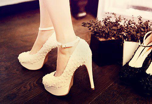 yeni sezon beyaz platformlu ayakkabilar En son Moda Platform Topuklu Ayakkabılar 11