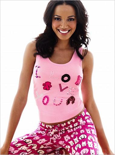 yeni sezon penye pijama takimlari En Güzel Bayan Penye Pijama Takımları 17