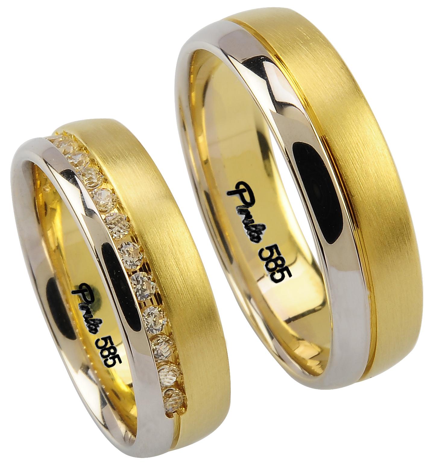 yeni trend alyans modelleri Evliliği Simgeleyen Kalın Altın Alyans Örnekleri 3