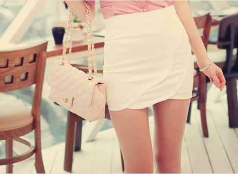 yeni trend beyaz dar mini etek Rengarenk Model Model Mini Yazlık Etekler 18