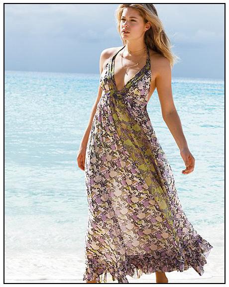 yeni trend boyundan baglamali uzun elbise modelleri En Güzel Maxi Elbise Modelleri 25